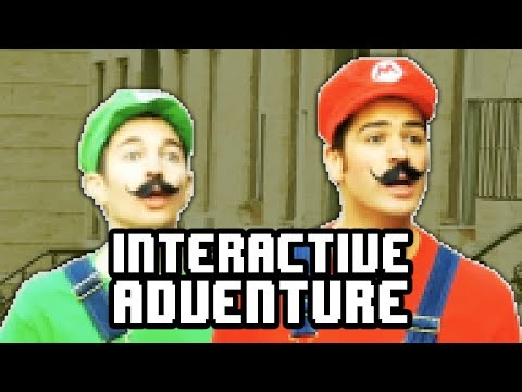 Super Mario Interactive Adventure Game!