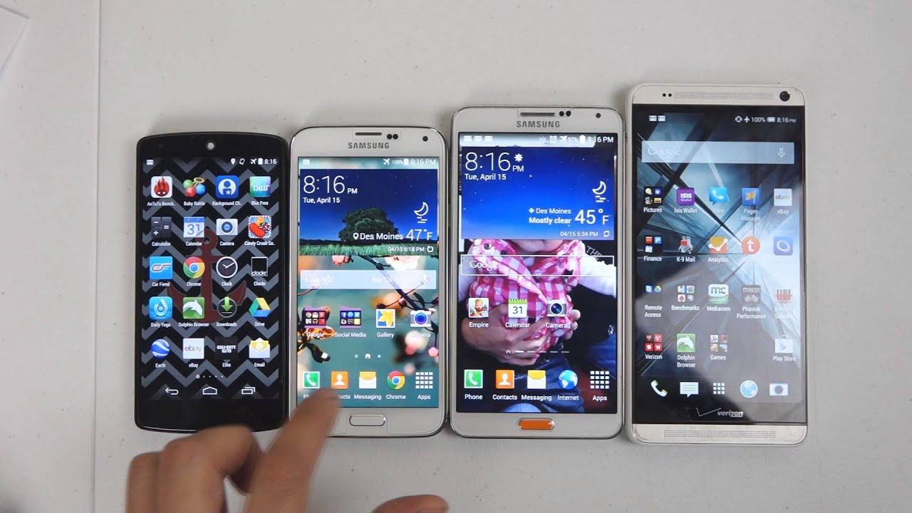 CricketUsers.com - Samsung Galaxy S5 vs Note 3 vs Nexus 5 ...Htc One Max Vs Galaxy S5