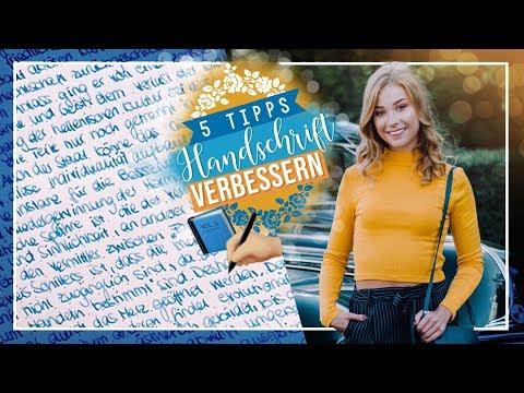 HANDSCHRIFT VERBESSERN - 5 Tipps // JustSayEleanor ♡ (schöner schreiben)