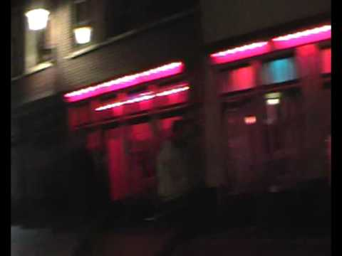 Amsterdam. Red Light District. ...with a hidden camera in my sleeve