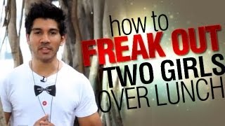 Cool Magic Tricks: Learn How To Freak Out Two Girls Over Lunch!