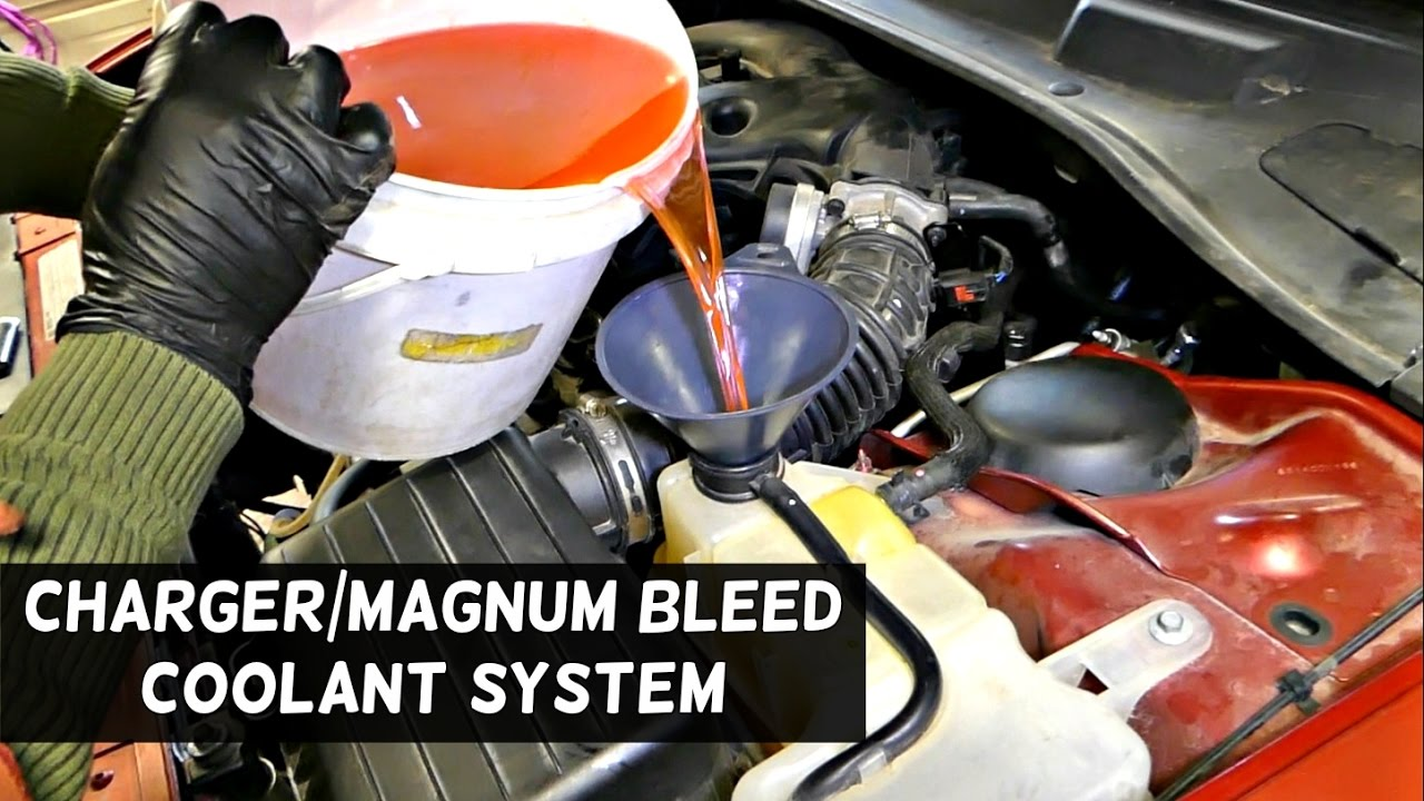 how to bleed the cooling system on dodge charger dodge magnum chrysler 300 [ 1280 x 720 Pixel ]