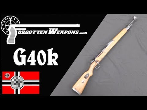 The G40k: A German Experimental Mauser Carbine