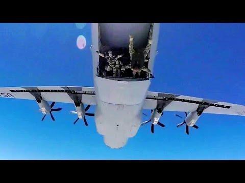 Combat Controller Instructors & SOWT Instructors Parachute Jump