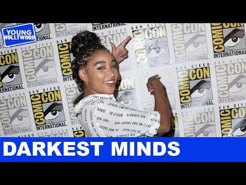 RideAlong With Amandla Stenberg & the Cast of The Darkest Minds!