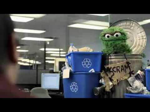 Recycling with Oscar The Grouch & Darryl Dinn