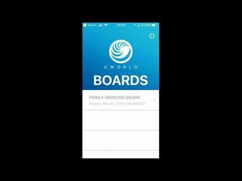 Taking Board Exams? Try the UWorld Family Medicine Prep App