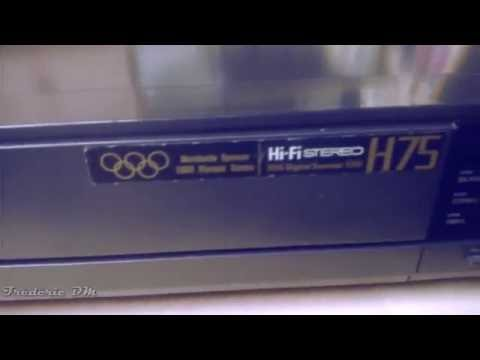 Panasonic NV-H75 Video cassette recorder 1987 VHS
