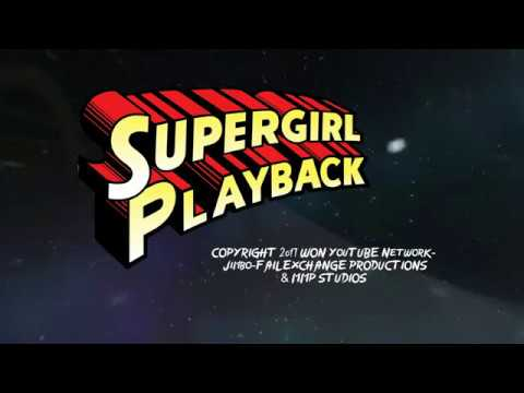 WON/MMP's Supergirl Playback-Supergirl's Cross Of Defeat (2014)