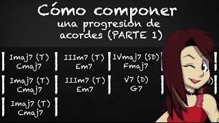 COMO COMPONER UNA PROGRESIÓN DE ACORDES  | Tonalidad y Funciones armónicas de una escala Mayor