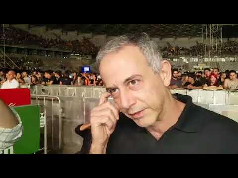 João Barone vê show de Paul McCartney em BH