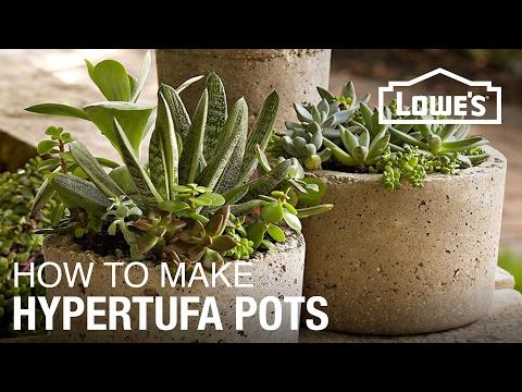 How to Make Hypertufa Pots