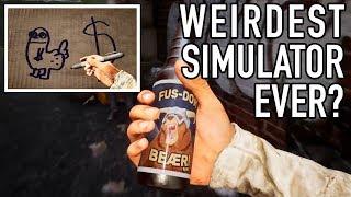 The Weirdest Simulation Game Yet? - Bum Simulator Trailer