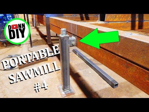 Jack Stands, Proof Of Concept - Band Sawmill Build #4