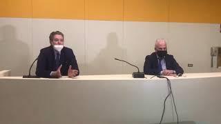 Sopralluogo all'ospedale Vietri di Larino: la conferenza stampa di Florenzano e Giustini