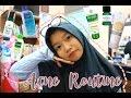 Acne skincare routine | My acne story | Bahasa