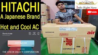 Hitachi 1 5 Ton 3 Star Split Air Conditioners RSM ESM CSM318HDDO Copper Condenser New Series