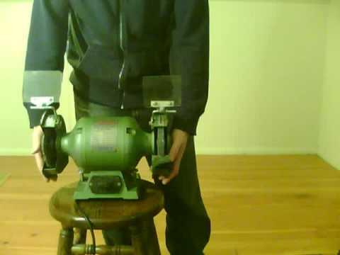 STERLING PRECISION (Sterling-Packard Corp) Heavy Duty BENCH GRINDER - All Ball Bearing