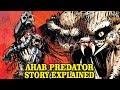 AHAB PREDATOR - FULL STORY EXPLAINED - ENGINEER HUNTER - YAUTJA LORE AND HISTORY EXPLORED