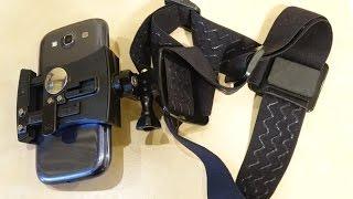 Как сделать из телефона экшн камеру или налобный фонарик своими руками(Все пояснения и фотографии отдельных узлов конструкции есть на видео. Хочу лишь расставить несколько точек..., 2015-12-16T11:55:37.000Z)