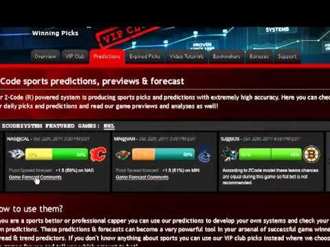 Z Code Sports Picks Predictions & Winning Picks