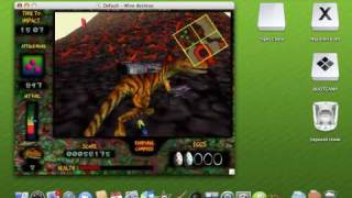 Nanosaur Extreme running on an Intel Mac [CrossOver Port]