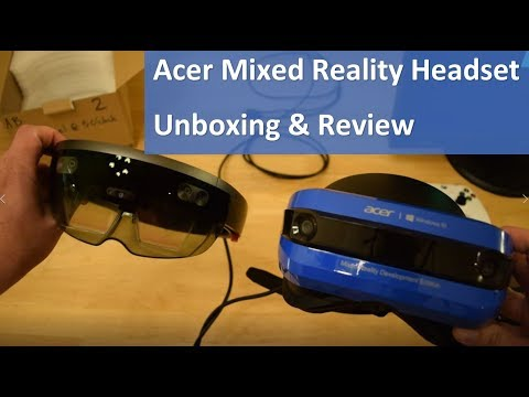 Acer Mixed Reality Headset Unboxing, Setup and Review | Mindblowing!
