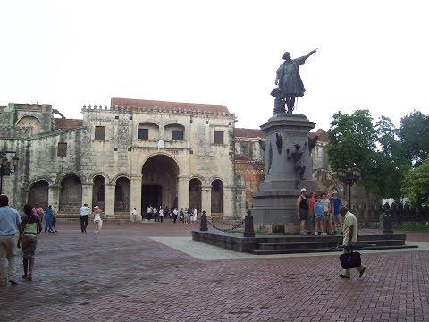 Inside the Main Cathedral in Santo Domingo Dominican Republic