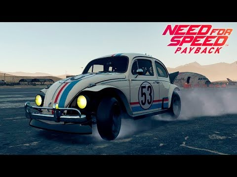 ME LO HABÉIS PEDIDO! VOLKSWAGEN BEETLE COMO HERBIE! NEED FOR SPEED PAYBACK