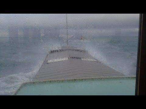 Dutch Barge Sea Crossing Safety Checks
