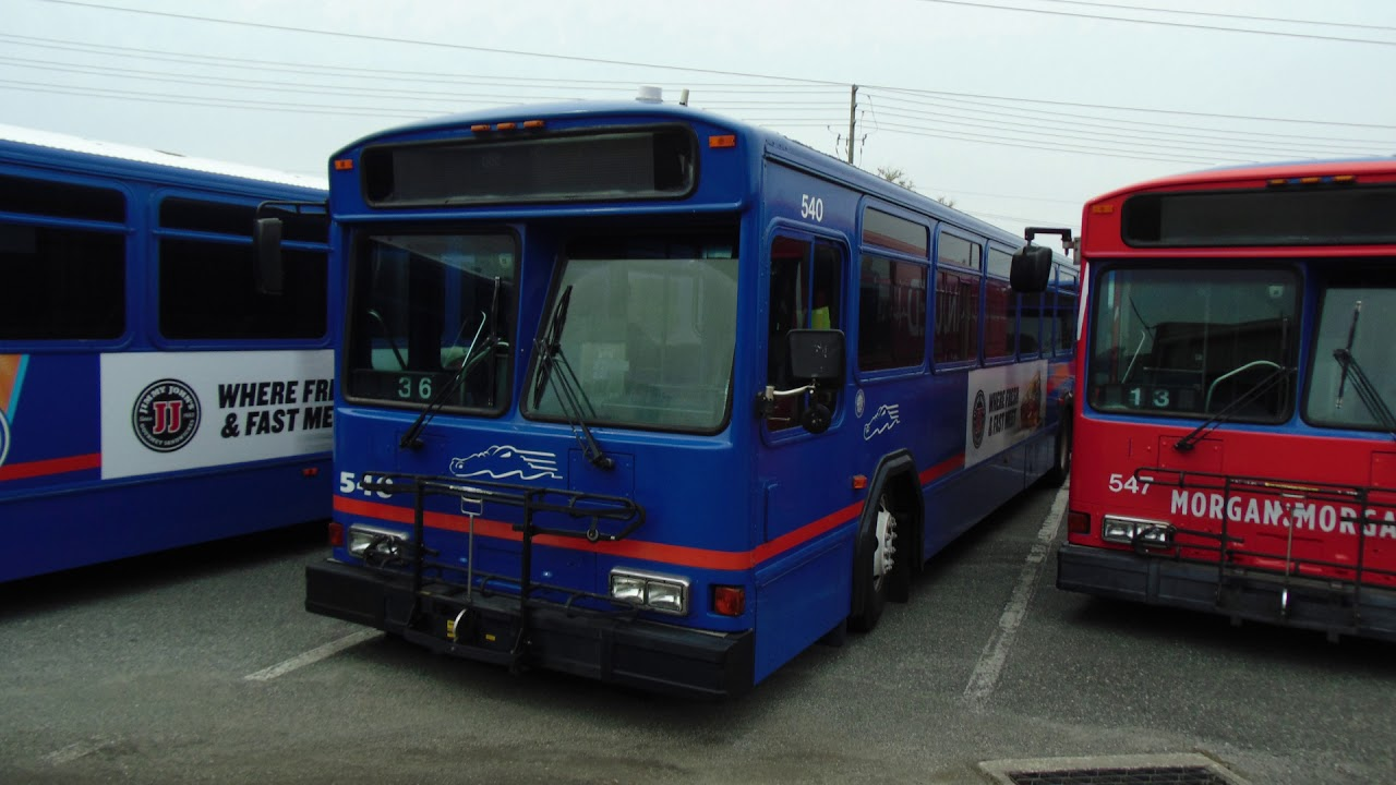Gainesville Rts  2001 Gillig Phantom  540  Ex