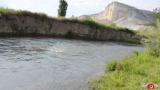 Крымская вода. Река Биюк-Карасу. Белогорск(Есть ли в Крыму вода? Есть...и пить. Вот речка Биюк-Карасу, которая несёт свои воды из Тайганского водохранили..., 2014-05-31T23:12:18.000Z)