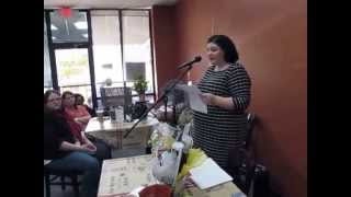Author Meg Farrell, Book Signing, Reading Part 1