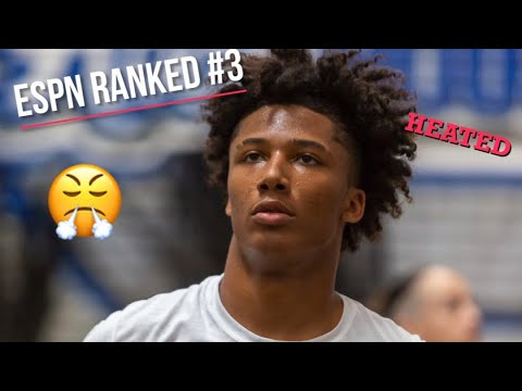 Mikey Williams Is ANGRY ESPN Ranked Him 3rd! Locks Up Every Posession😤