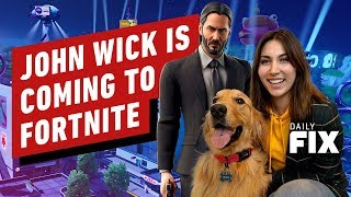 John Wick Is Coming to Fortnite... For Real - IGN Daily Fix