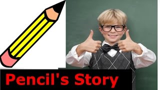 A Pencil | Animated Pencil Story For Kids | Moral Stories For Kids In English
