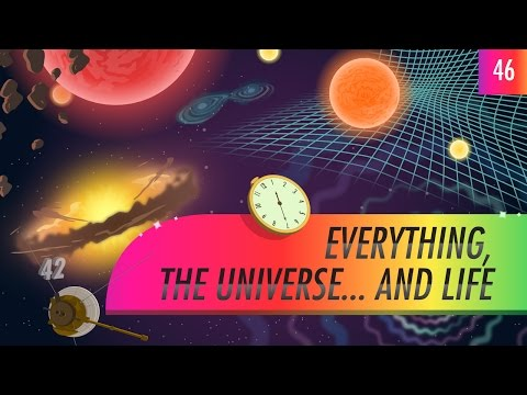 Everything, The Universe…And Life: Crash Course Astronomy #46