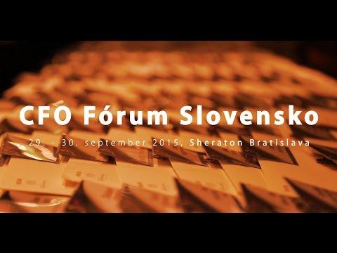 CFO Fórum Slovensko | Bratislava 2015