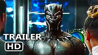 BLACK PANTHER Trailer 2 (2018) New Superhero Marvel Movie HD