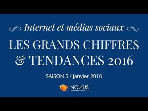 Internet et médias sociaux : les grands chiffres et tendances 2016