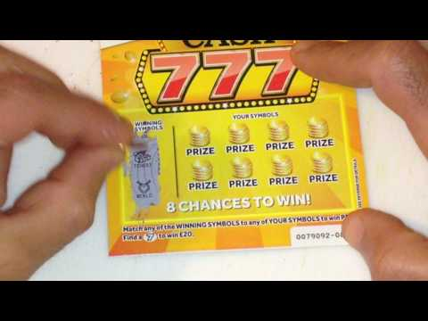 Scratchcards..£70,000 Cash 777...£300,000 Cash word ..£300,000 Lucky Lines ..ANY WIN