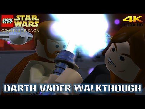 Lego Star Wars The Complete Saga Darth Vader Walkthrough (4K) |
