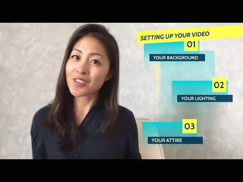 How To Present On Video, Part 1: Setting Up Your Video