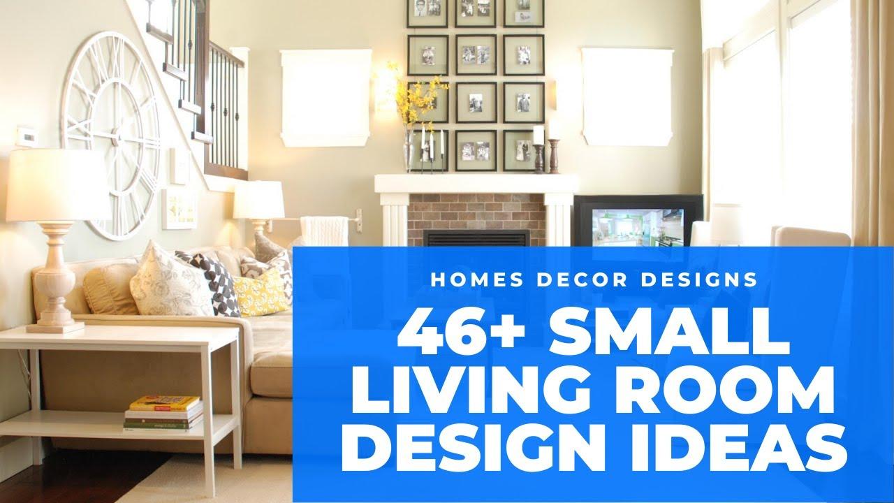 46+ Small Living Room Interior Designs 2020   Beautiful ...