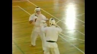 Enshin Karate SF/ Mumonkai 1 -- Tomiyama vs Ito