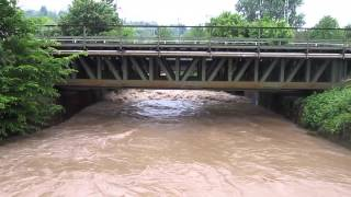 Wasserstand Pfinz (Pfinztal-Berghausen)