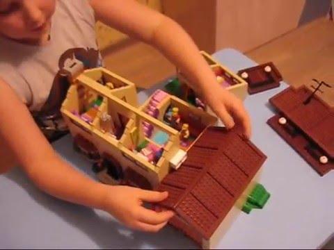 домик лего игры