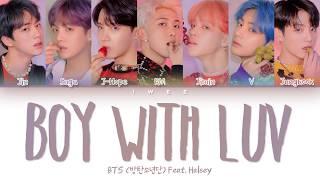 Baixar BTS (방탄소년단) Feat. Halsey - 작은 것들을 위한 시 (Boy with Luv) (Han|Rom|Eng) Color Coded Lyrics/한국어 가사