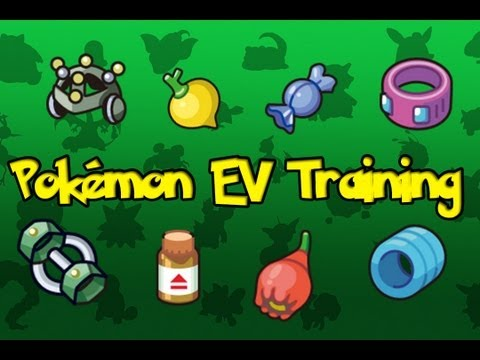 Pokemon Theory -  EV Training Explained