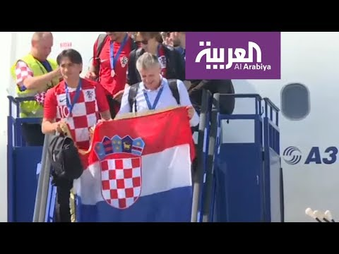 روسيا2018 | استقبال منتخب كرواتيا في زغرب  - نشر قبل 7 ساعة
